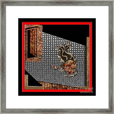 Inw_20a5904 Coursing Framed Print