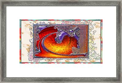 Inw_20a5930sz Droppings Framed Print