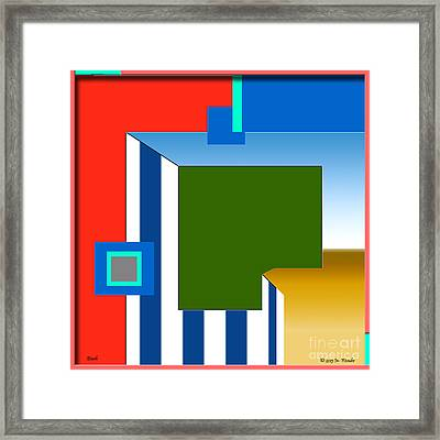 inw_20a5964 Beach plain Framed Print