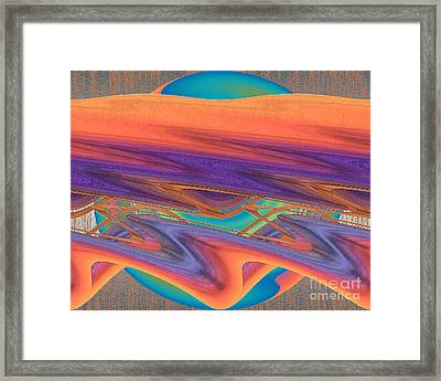 Inw_20a6033 Weaving    Framed Print
