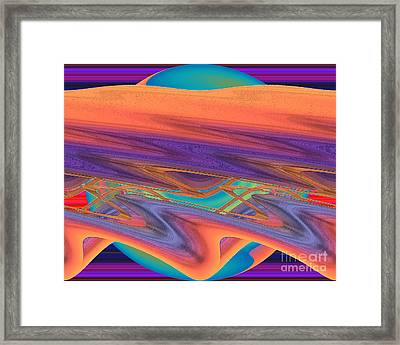 Inw_20a6036 Weaving Framed Print