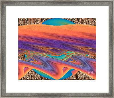 Inw_20a6037 Weaving Framed Print