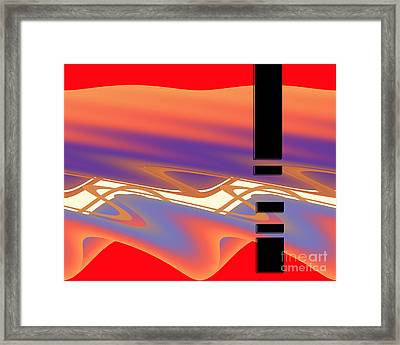 Inw_20a6050 Weaving Framed Print