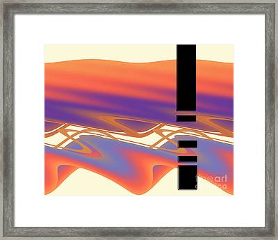 Inw_20a6049 Weaving Framed Print