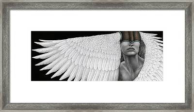 Inward Flight Framed Print
