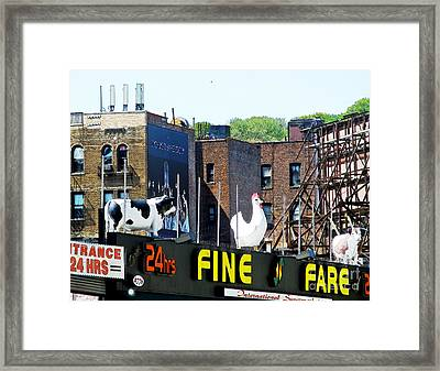 Inwood Farm Framed Print by Sarah Loft
