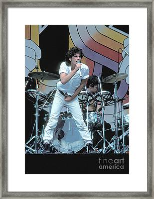 Inxs Framed Print by Concert Photos