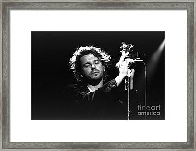 Inxs-michael-gp04 Framed Print by Timothy Bischoff