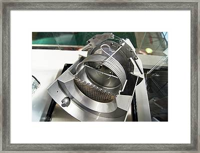 Ion Thruster Framed Print by Mark Williamson