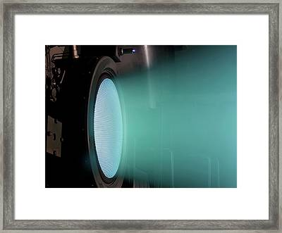 Ion Thruster Framed Print by Nasa/christopher J. Lynch (wyle Information Systems, Llc)