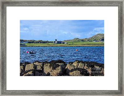 Iona Abbey Isle Of Iona Framed Print