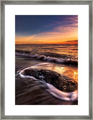 Iona Beach Framed Print