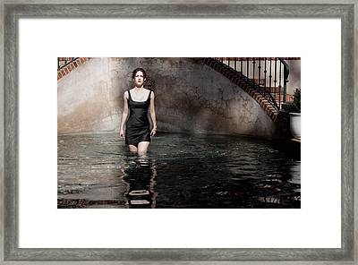 Iona Lynn 1-8 Framed Print by David Miller