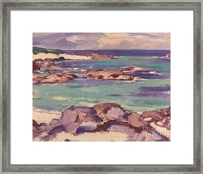 Iona Framed Print by Samuel Peploe