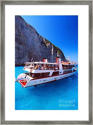 Ionian Sea Cruise Framed Print
