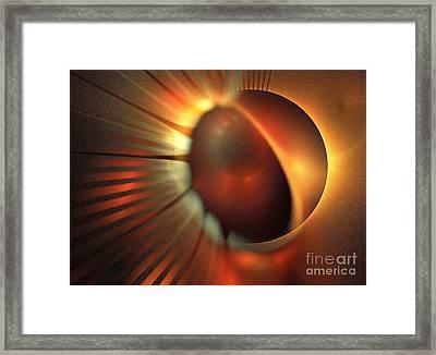 Iota Draconis Framed Print by Kim Sy Ok
