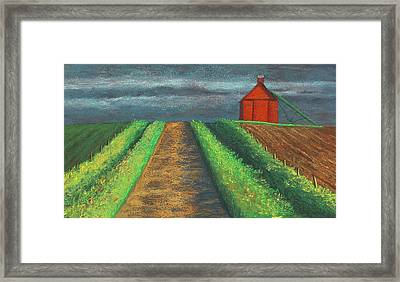 Iowa Country Road Framed Print by Garry McMichael