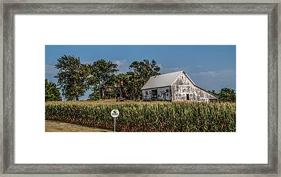 Framed Print featuring the photograph Iowa Farm by Ray Congrove