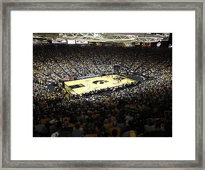 Iowa Hawkeyes Carver-hawkeye Arena Framed Print