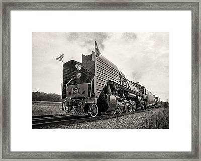 Iowa Interstate Qj #7081 Framed Print by Jeff Burton