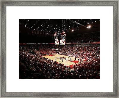 Iowa State Cyclones James H. Hilton Coliseum Framed Print by Replay Photos