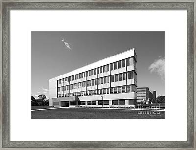Iowa State University Bio-renewables Research Laboratory Framed Print by University Icons
