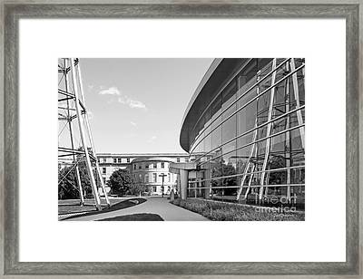 Iowa State University Hoover Hall Framed Print by University Icons