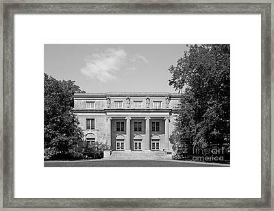 Iowa State University Mackay Hall Framed Print by University Icons