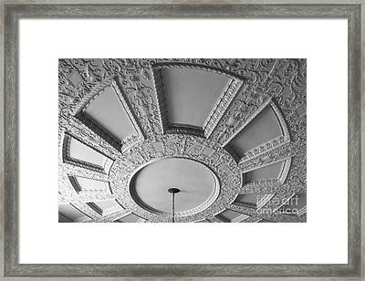 Iowa State University Memorial Union Stairwell Framed Print by University Icons