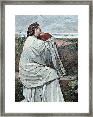 Iphigenia Daughter Of Agamemnon Framed Print by Prisma Archivo