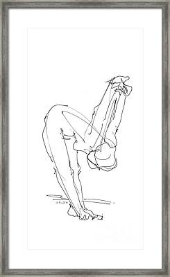 iPhone-Case-Female-Nude-6 Framed Print by Gordon Punt