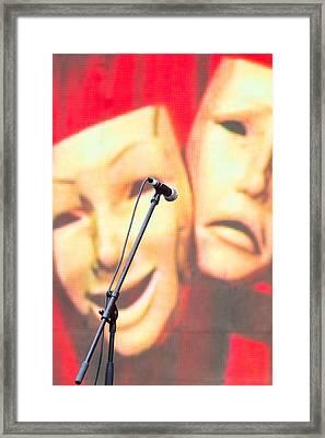 iPhone Case - Masks Framed Print