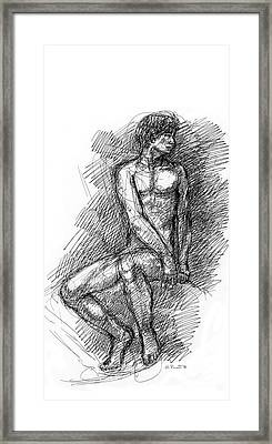 iPhone-Case-Nude-Male1 Framed Print by Gordon Punt