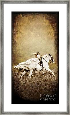 iPhone Case - Ride Like the Wind Framed Print
