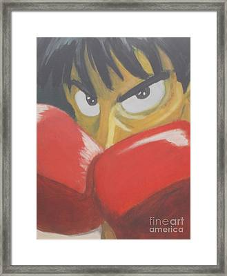 Ippo Framed Print by Ryan Scales