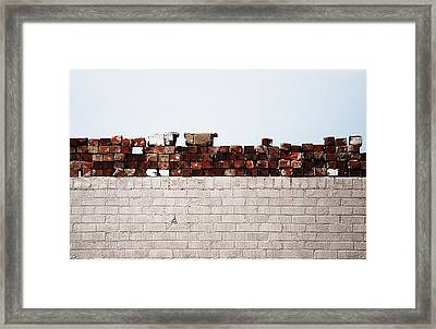 #ipromiseyouwalls Framed Print by Becky Furgason
