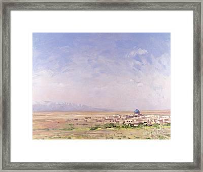 Iran Framed Print by Bob Brown
