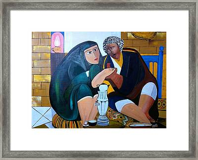 Iraqi Tea Framed Print by Rami Besancon