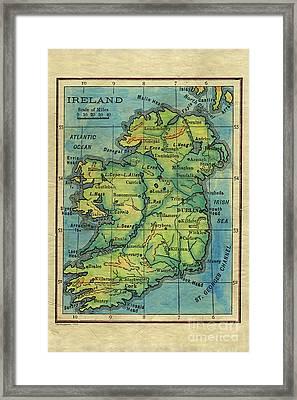 Ireland 1906 Framed Print