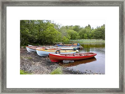 Ireland Boats 2 Framed Print