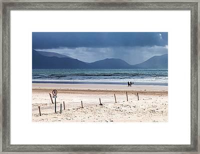 Ireland - Inch Beach Framed Print