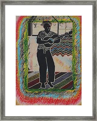 Irie Reggae 1 Framed Print
