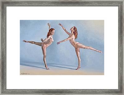 Irina Dancing Framed Print