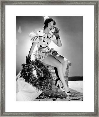 Iris Adrian, Paramount Portrait, 1934 Framed Print