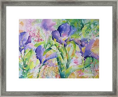 Iris And Friends Framed Print