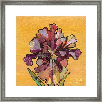 Iris I Series II Framed Print by Shadia Derbyshire
