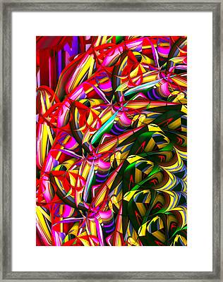 Iris Wheel Framed Print by Phill Clarkson