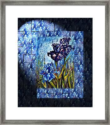 Irises Fantasy Framed Print