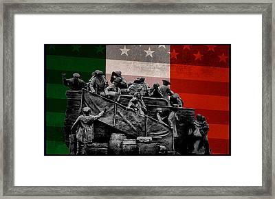 Irish American Framed Print by Bill Cannon