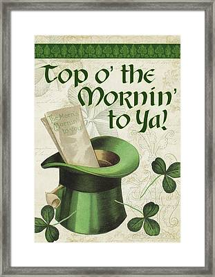 Irish Blessings Framed Print by Tammy Apple